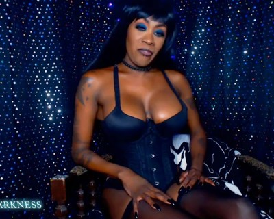 Thumbnail for Miss_DarkNess's Premium Video XXL Big Black Cock JOI CEI  Cum Eating Instruction